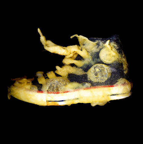 Deep-Fried Sneakers - Mirko Credito Tosses Random Stuff in the Fryer, Because He Can