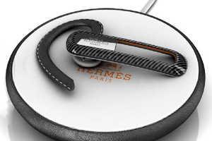Ultra-Chic Hermes Paris Bluetooth Headset