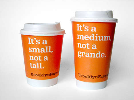 Cheeky Packaging Designs - Brooklyn Fare's Branding Puts the Fun in Functional