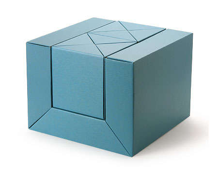 Cardboard Kids' Furniture - Recyclable Origami-Inspired Decor by Metrocs