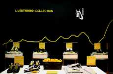Sneaker Ad Art - Nike's LIVESTRONG Collaboration Advertises Lance Armstrong Partnership
