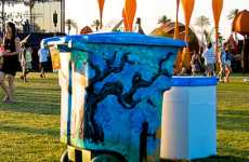 Artsy Rubbish Bins - The  TRASHed Art of Recycling Campaign Creates Artistic Garbage Cans