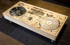 Coffee Turn Tables - Bughouse Art & Design Create a Scratch-Worthy Design