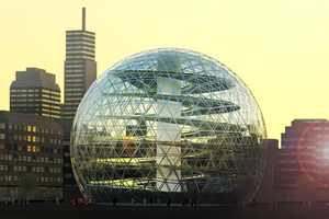 Plantagon Urban Farms Will Supply Fresh Produce in Geodesic Domes