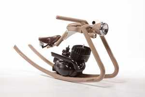 Felix Goetze Combines Child Toy & Vintage Chopper