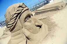 Sandy Sculptures - Jesolo Lido's Annual Sand Sculpture Festival Has Dante's Inferno Them