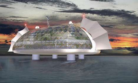 Floating Green Micro-Cities - The SESU Seastead Ocean Society is Tomorrow's Utopia