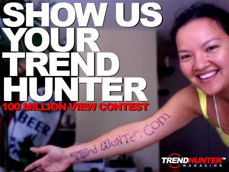 Show us Your Trend Hunter (CONTEST) - TH Celebrating 100 Million Views