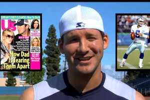 Tony Romo Makes Fun of His Own Brand Love