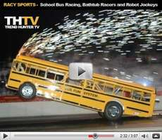 Racy Sports - From School Bus Drag Racing to Robot Jockeys