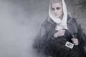 Karl Lagerfeld's Smoke-Filled Fendi Fall 2009 Campaign