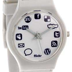 Internet Timepieces - Social Media Watches for the Ultimate Geek