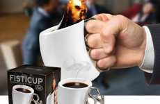 Gangster Coffee Cups - The Fisticup Can Give a Serious Punch