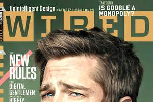 Brad Pitt is Featured in Wired Magazine