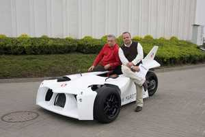 Marotti's Trike Car Looks Like It's From a Distant Galaxy