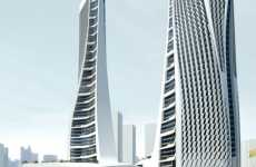 Colossal All-in-One Complexes - Hangzhou Raffles City Tower Houses an Array of Daily Activities