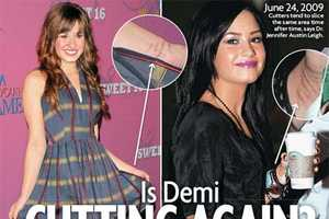Is Demi Lovato Cutting Again? How Can Famous Teens Cope?