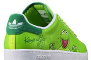 Kermit the Frog Adidas by Stan Smith