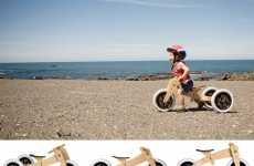 Pedal-less Bicycles - The 3-in-1 'Wishbone Bike' is a Starter Cycle for Children