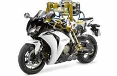 Motorcycle Riding Robots - Flossie is a 'Bot Used as a Bike Tester for Castrol