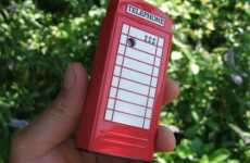 Mobile Phone Booths - Mobile Design Shaped To Look Like Britain's Iconic Red Booth