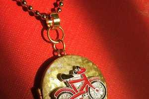Dainty Handmade Accessories to Celebrate Cycling and Paris
