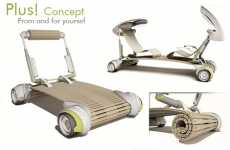 Shape Shifting Cars - The Plus! Concept Car is Designed for a Future Megalopolis