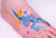 Paint Splatter Tattoos
