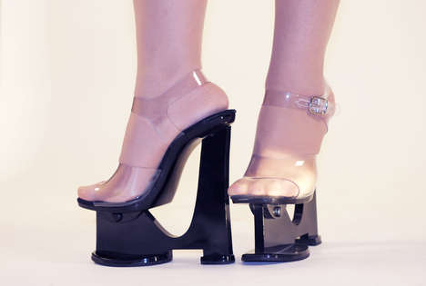 High-Tech Hooker Shoes - Sky-High Heels Fit For Ladies of the Night