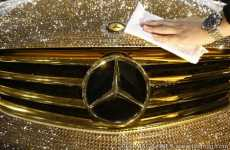 Sparkly Sports Cars - Garson/D.A.D Covers a Mercedes Benz in Crystals (UPDATE)