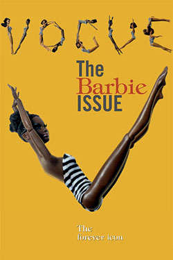 Black Barbies - Using Toys to Send the Diversity Message in Vogue Italia's Black Issue