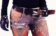 Chainmail Shorts