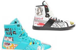 Reebok's Kicks are Covered In Basquiat's Art (Update)