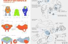 Green Kids Gadgets - Kinetic Energy Charging Fastronauts Are Powerd By Play