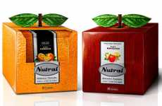 Leaf-Topped Packaging - Nutral Creates Fruit Skin Inspired Designs