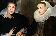 Photoshopping French Classic Paintings Into Modern Celebrity Shots