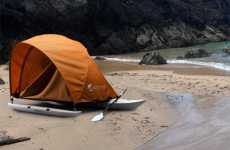 Hybrid Kayak Shelters - Kahuna Adventure Tent Kayak Makes Camping Sleek