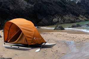 Kahuna Adventure Tent Kayak Makes Camping Sleek