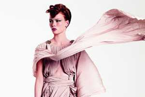 Vionnet Resort Collection Photos Akwardly Utilize Wind Machine