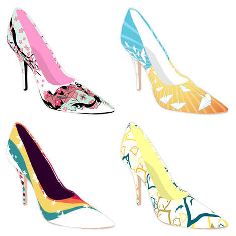 Personalized Printed Pumps
