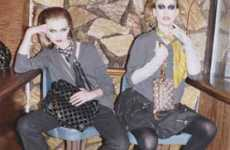 80s Party Editorials - Marc Jacobs Makes Vintage-Inspired Acid Washed Ads for Fall 2009