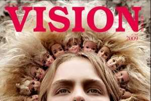 Pier Atkinson's Eccentric Headwear Lands the Cover of Vision Magazine