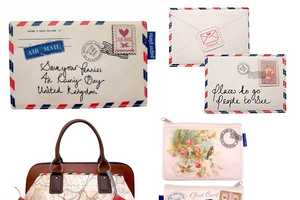 Vintage Purses Resemble Snail Mail Letters