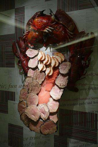 Mouthy Food Sculptures