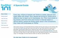 Twitter Tutorials - 'Twitter 101' Launches as a Primer for the Suits