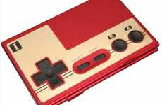 Controller Credit Card Carriers - The NES Controller Business Card Case for Gamers