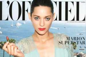 L'Officiel Magazine Gets (Un)Dressed With Marion Cotillard