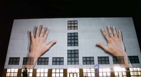 3D Wall Projections