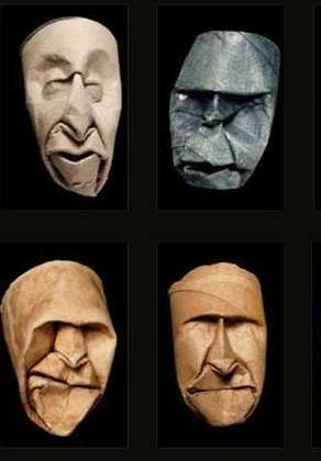 Toilet Paper Faces