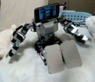 iPhone Robot Brains